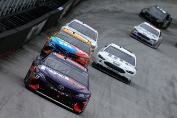 Denny Hamlin Monster Energy NASCAR Cup Series Food City 500