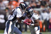 Peyton Manning C.J. Anderson Photos Photo