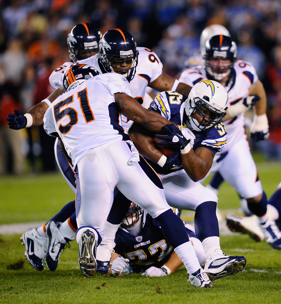 San Diego Chargers Game On Tv: Denver Broncos V San Diego Chargers