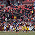 Kirk Cousins Photos - Quarterback Kirk Cousins #8 of the Washington Redskins drops back to pass against the Denver Broncos in the fourth quarter at FedExField on December 24, 2017 in Landover, Maryland. - Denver Broncos v Washington Redskins
