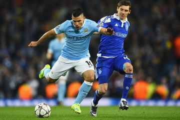 Denys Garmash Manchester City FC v FC Dynamo Kyiv - UEFA Champions League Round of 16: Second Leg