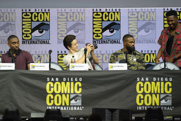 Denzel Whitaker Comic-Con International 2018 - RZA: Movies, Music, And Martial Arts