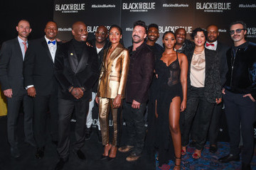 Deon Taylor Roxanne Taylor 'Black And Blue' New York Screening