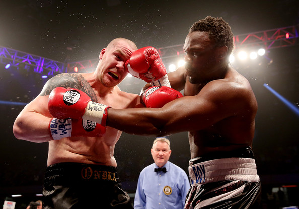 Championship Boxing event at the Copper Box Arena