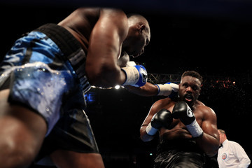 Dereck Chisora Boxing at Manchester Arena