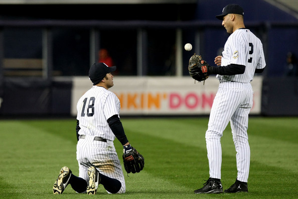 Los Angeles Angels of Anaheim v New York Yankees, Game 2 []
