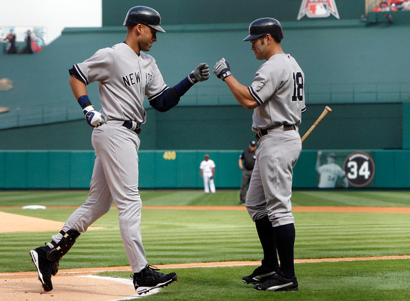 New York Yankees v Los Angeles Angels of Anaheim, Game 3 []
