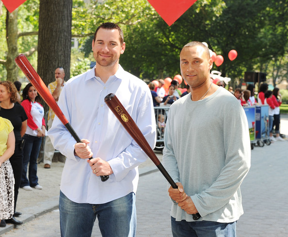 Derek Jeter And Mike Pelfrey Photos Photos Zimbio