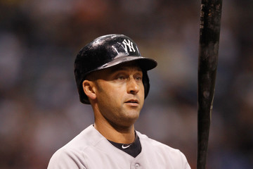 Derek Jeter New York Yankees v Tampa Bay Rays
