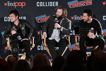 Derek Wilson Hulu's 'Future Man' Panel at New York Comic Con
