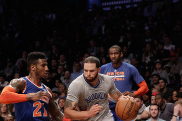 Deron Williams New York Knicks v Brooklyn Nets