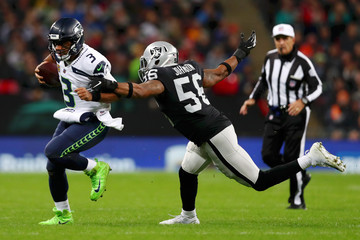 Derrick Johnson Seattle Seahawks vs. Oakland Raiders