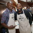 Derrick Mason Waiting for Wishes Celebrity Waiters Dinner hosted by Kevin Carter and Jay DeMarcus
