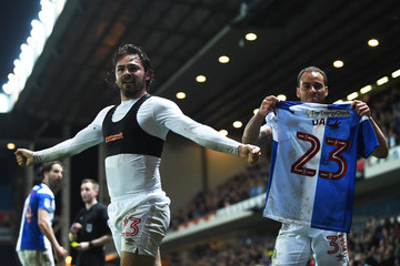 Derrick Williams Blackburn Rovers vs. Peterborough United - Sky Bet League One