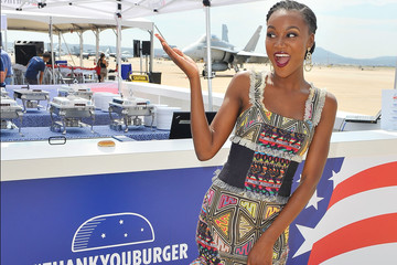 Deshauna Barber Carnival Cruise Line's First Ever Socially Powered BBQ at Marine Corps Air Station Miramar