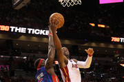 Ben Wallace and Dwyane Wade Photos Photo