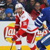 Frans Nielsen Photos - Frans Nielsen #51 of the Detroit Red Wings skates with the puck against the Toronto Maple Leafs during an NHL game at the Air Canada Centre on March 24, 2018 in Toronto, Ontario, Canada. The Maple Leafs defeated the Red Wings 4-3. (Photo by Claus Andersen/Getty Images) <i></i>* Local Caption <i></i>* Frans Nielsen - Detroit Red WIngs vs. Toronto Maple Leafs