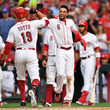 Joey Votto and Billy Hamilton Photos