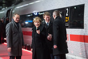 Angela Merkel Michael Mueller Photos Photo