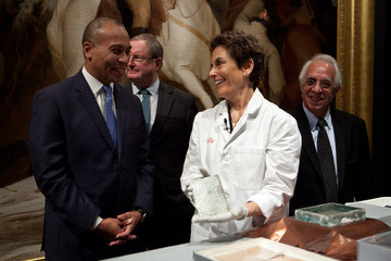 Deval Patrick Time Capsule from 1795 Unveiled