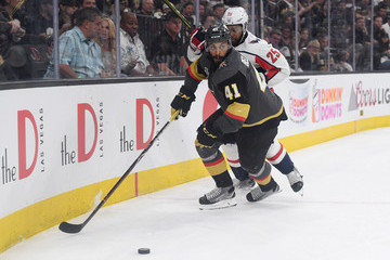 Devante Smith-Pelly Pierre-Edouard Bellemare 2018 NHL Stanley Cup Final - Game One