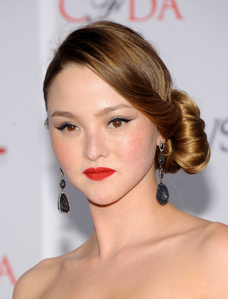 Devon Aoki Model Devon Aoki attends the 2012 CFDA Fashion Awards at Alice Tully Hall on June 4, 2012 in New York City.