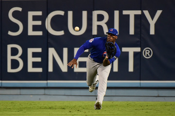 Dexter Fowler NLCS - Chicago Cubs v Los Angeles Dodgers - Game Three