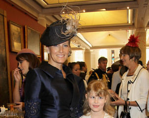Sophie Countess of Wessex Diamond Jubilee - Queen Elizabeth II Attends Reception At Guildhall