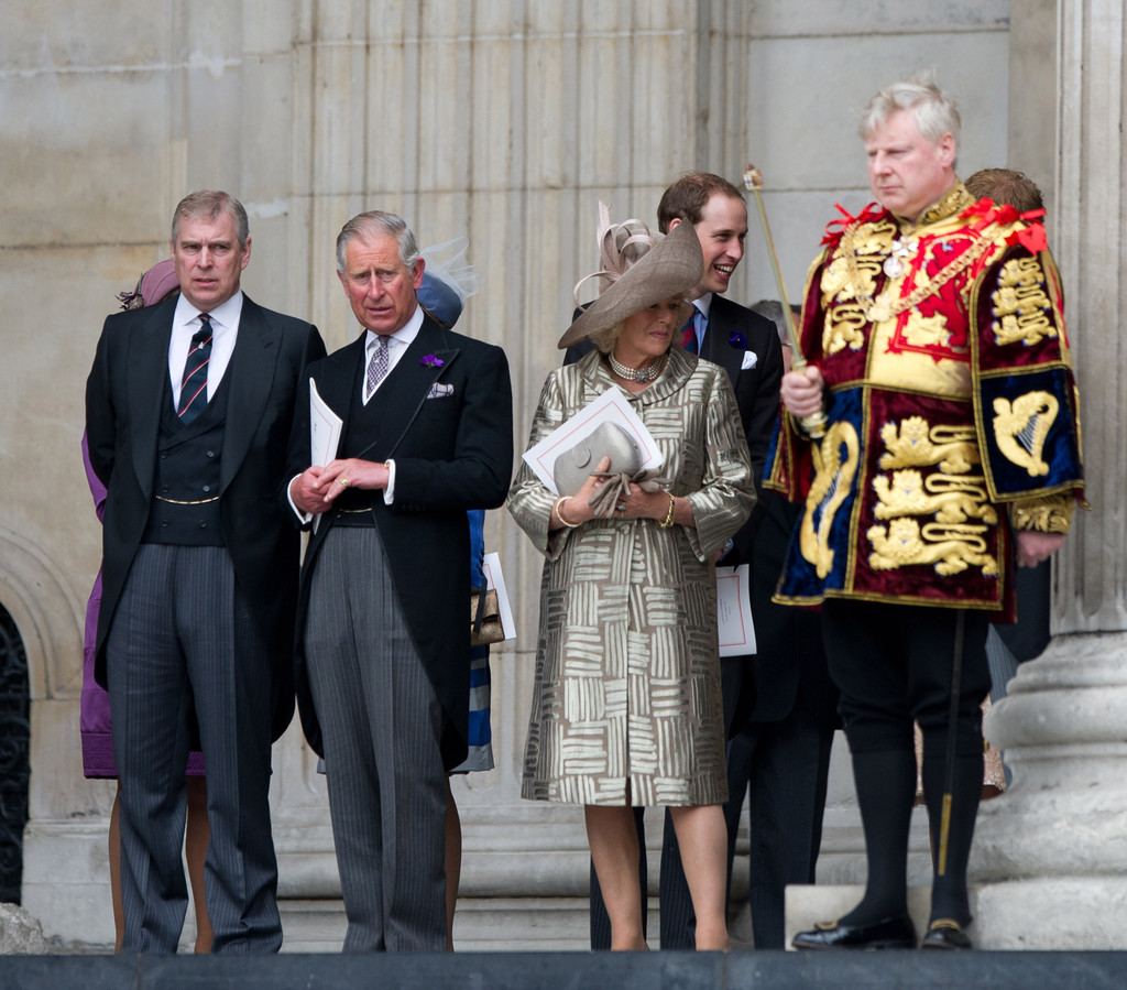 how is prince andrew related to prince charles
