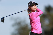 Lydia Ko of New Zealand watches her tee shot on the 17th hole during the second round of the Diamond Resorts Tournament of Champions at Tranquilo Golf Course at Four Seasons Golf and Sports Club Orlando on January 18, 2019 in Lake Buena Vista, Florida.