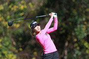 Lydia Ko of New Zealand hits her tee shot on the sixth hole during the second round of the Diamond Resorts Tournament of Champions at Tranquilo Golf Course at Four Seasons Golf and Sports Club Orlando on January 18, 2019 in Lake Buena Vista, Florida.