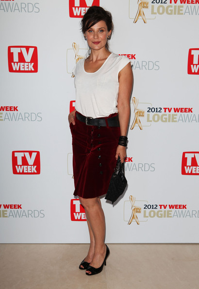 2012 Logie Award Nominees Announced [clothing,fashion model,shoulder,carpet,fashion,joint,waist,cocktail dress,dress,footwear,diana glenn,nominees,actress,logie award,australia,sydney,park hyatt hotel,nominations announcement]
