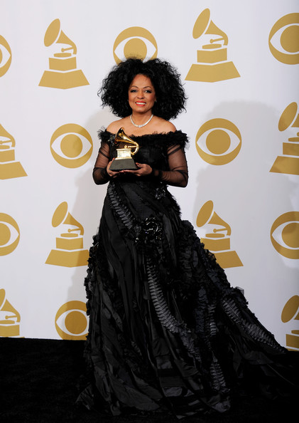Diana Ross Singer Diana Ross, recepient of the GRAMMY Lifetime Achievement Award, poses in the press room at the 54th Annual GRAMMY Awards at Staples Center on February 12, 2012 in Los Angeles, California.