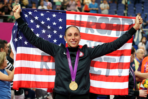 Image: Olympic Gold Medalist, Diana Taurasi