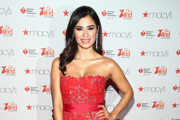 Diane Guerrero The American Heart Association's Go Red For Women Red Dress Collection 2017 Presented By Macy's at Fashion Week in New York City - Arrivals & Front Row