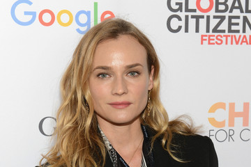 Diane Kruger 2015 Global Citizen Festival in Central Park to End Extreme Poverty by 2030 - VIP Lounge