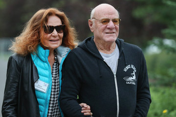 Diane Von Furstenberg Barry Diller Business Leaders Converge in Sun Valley, Idaho for the Allen and Company Annual Meeting
