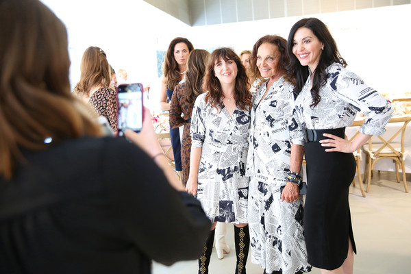 Diane Von Furstenberg And LinkedIn Host An In Charge Luncheon