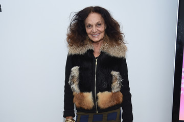 Diane von Furstenberg 'The Minefield Girl' Audio Visual Book Launch