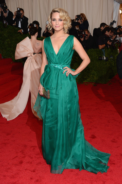 "Dianna Agron - NY: ""Schiaparelli And Prada: Impossible Conversations"" Costume Institute Gala"