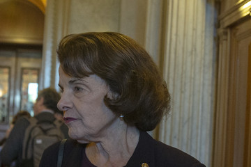 Dianne Feinstein U.S. Senate Returns To Session After Tumultuous Week