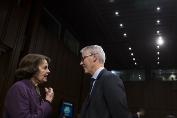 Dianne Feinstein Facebook, Google, and Twitter Executives Testify Before Congress on Russian Disinformation