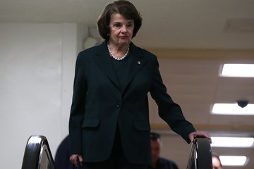 Dianne Feinstein Lawmakers React to Latest News Report Surrounding President Trump and Former FBI Director Comey's Russia Investigation