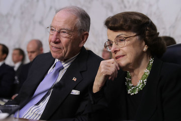 Dianne Feinstein Senate Holds Confirmation Hearing For Brett Kavanugh To Be Supreme Court Justice