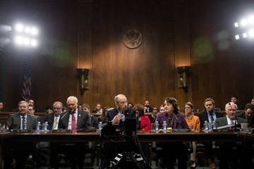 Dianne Feinstein Senate Judiciary Committee Votes On Nomination Of Jeff Sessions To Become Attorney General