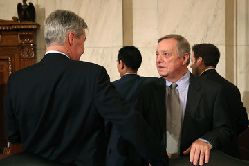 Dick Durbin Sen. Jeff Sessions Continues His Senate Confirmation Hearings To Become Attorney General