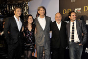 "(L-R) Actor Paul Sculfor, actress Giovanna Zacarias, actor Peter Coyote, Spanish director Bigas Luna and actor Luis Hacha attend ""Didi Hollywood"" premiere at the Capitol cinema on October 13, 2010 in Madrid, Spain."