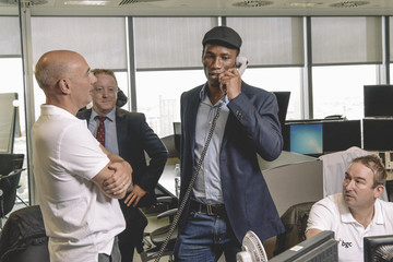 Didier Drogba The 13th Annual BGC Charity Day At BGC Partners In London's Canary Wharf - Behind The Scenes Colour