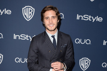 Diego Boneta Arrivals at the InStyle/Warner Bros. Golden Globes Party — Part 2