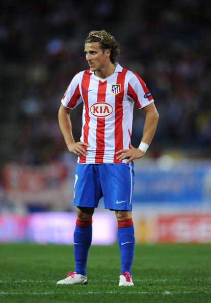 diego forlán of atlético madrid